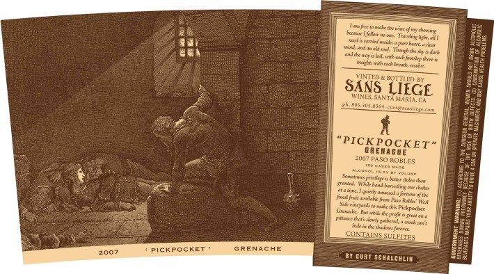 Sans Liege pickpocket